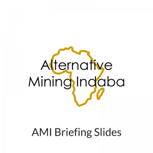 AMI 2017 Alternative Mining Indaba Briefing Slides